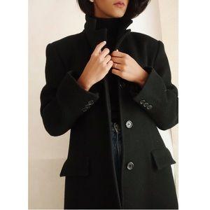 Vintage Marvin Richards Single-Breasted Long Coat